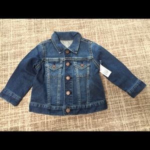 NWT GAP jean jacket